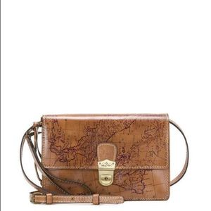 Patricia Nash Lanza Map Print Crossbody Bag